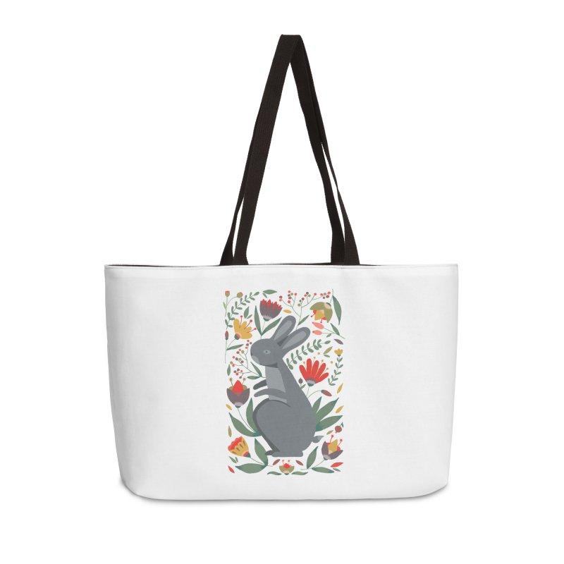Bunny Accessories Weekender Bag Bag by AnastasiaA's Shop