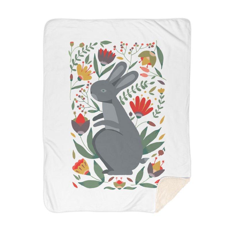 Bunny Home Blanket by AnastasiaA's Shop
