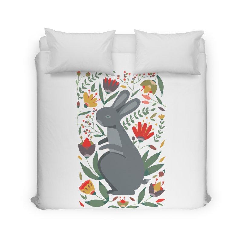 Bunny Home Duvet by AnastasiaA's Shop