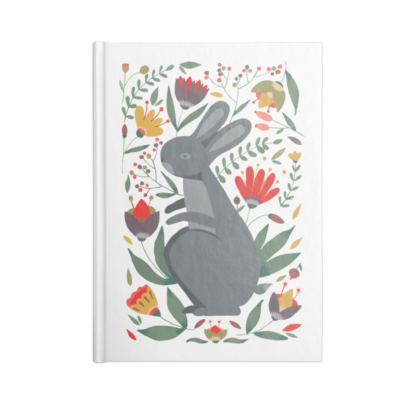 Bunny Accessories Notebook by AnastasiaA's Shop