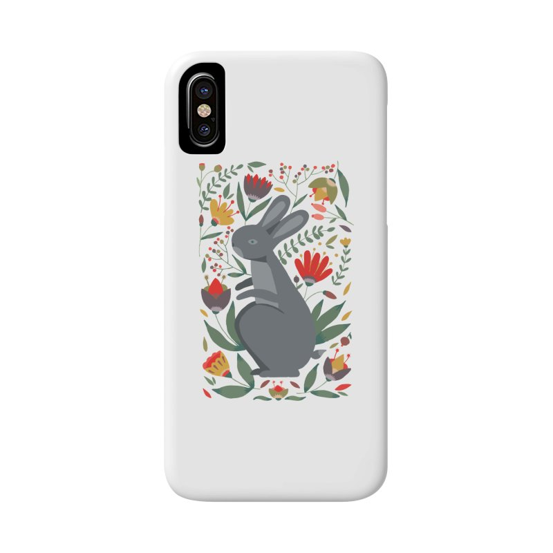 Bunny Accessories Phone Case by AnastasiaA's Shop