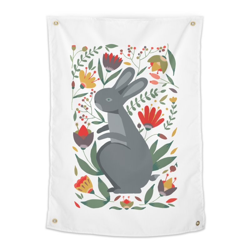 Bunny Home Tapestry by AnastasiaA's Shop