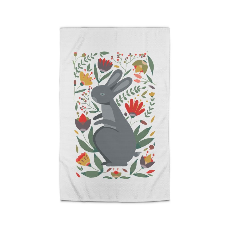 Bunny Home Rug by AnastasiaA's Shop
