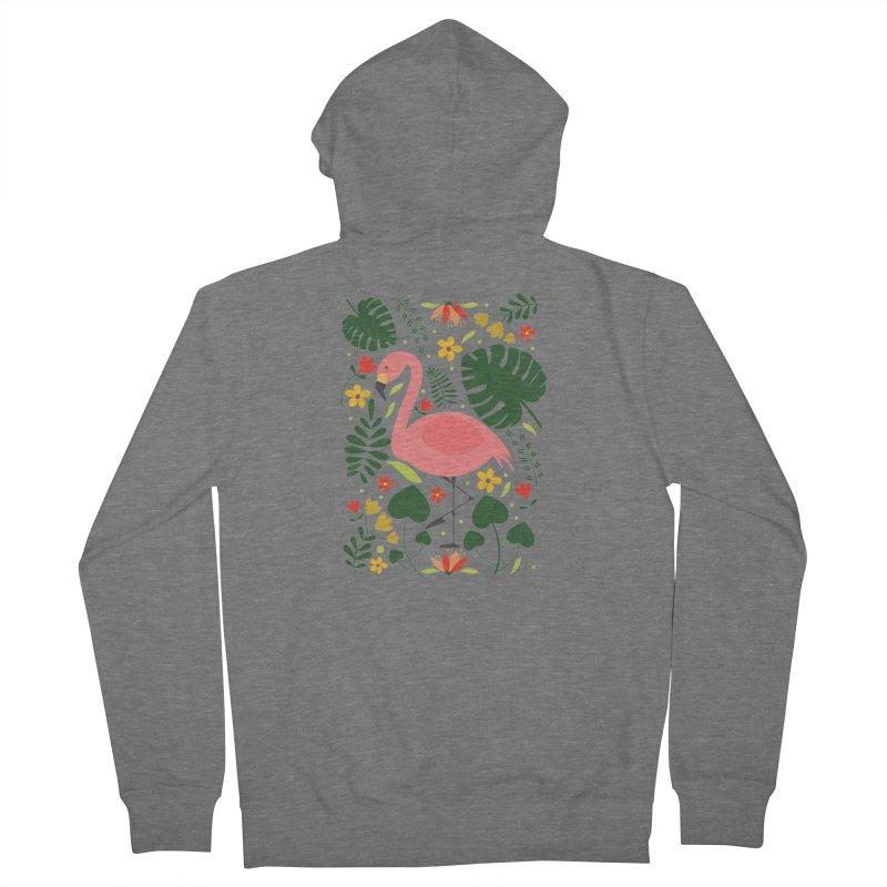 Flamingo Women's Zip-Up Hoody by AnastasiaA's Shop