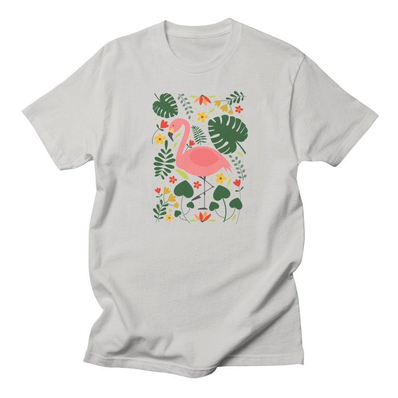 Flamingo Women's Unisex T-Shirt by AnastasiaA's Shop