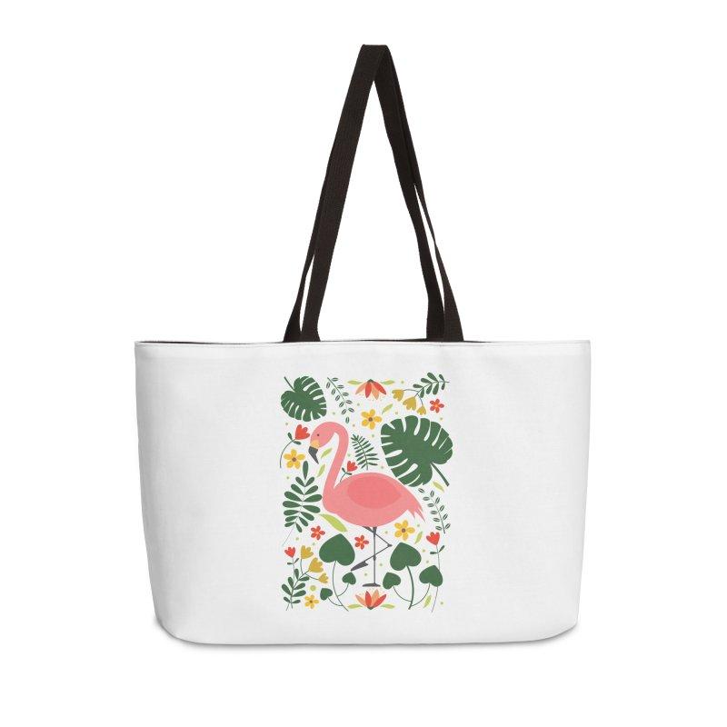 Flamingo Accessories Weekender Bag Bag by AnastasiaA's Shop