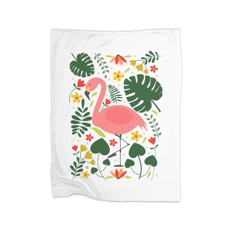 Flamingo Home Blanket by AnastasiaA's Shop