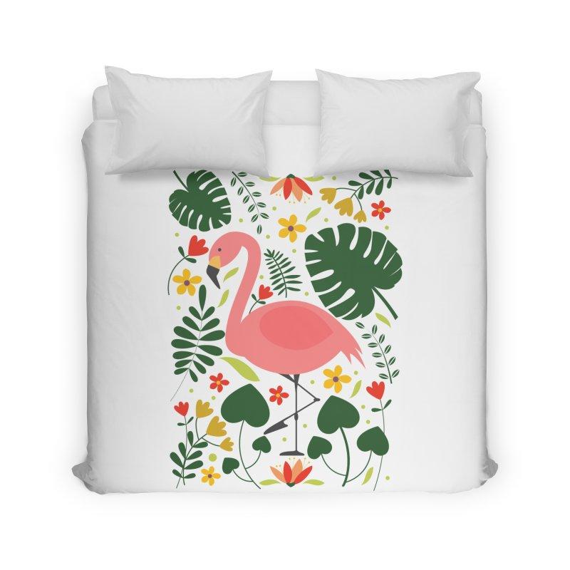 Flamingo Home Duvet by AnastasiaA's Shop