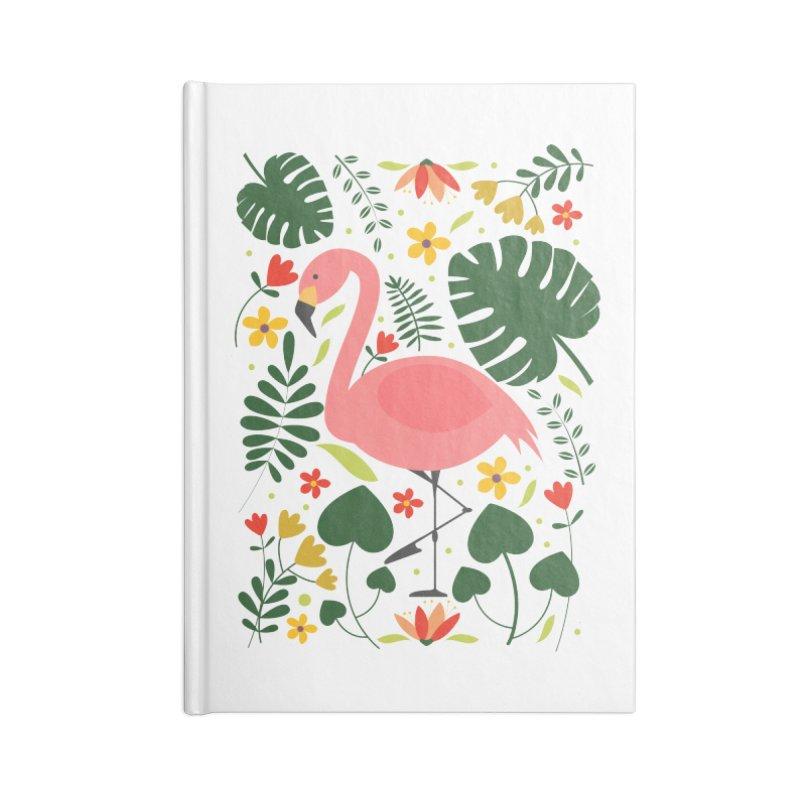 Flamingo Accessories Notebook by AnastasiaA's Shop
