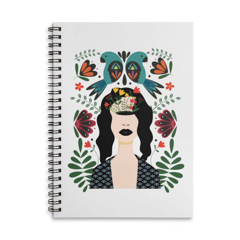 Spring Accessories Notebook by AnastasiaA's Shop