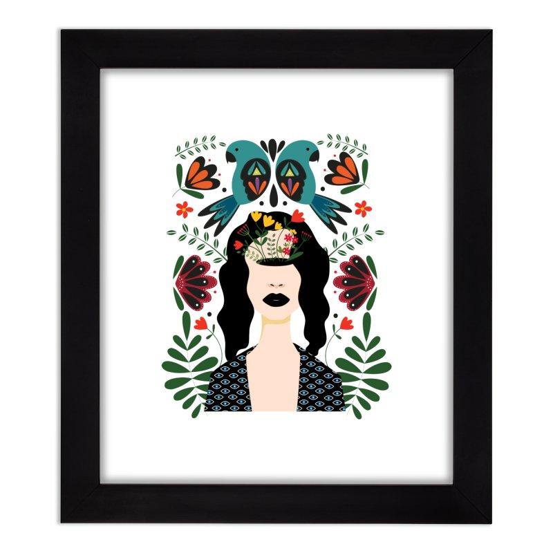 Spring Home Framed Fine Art Print by AnastasiaA's Shop