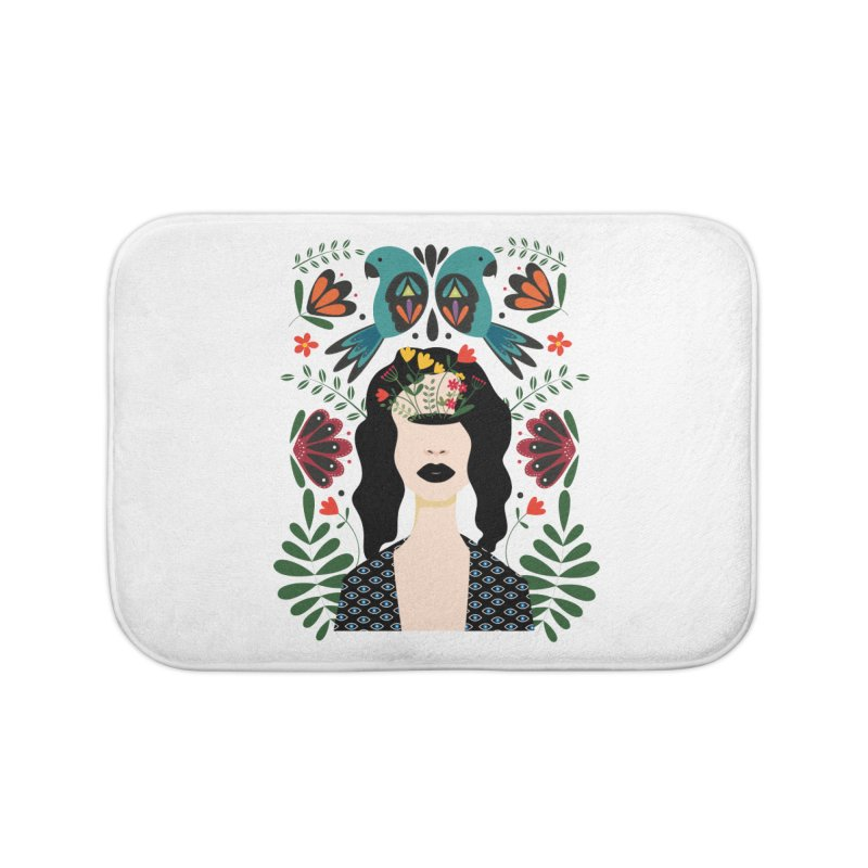 Spring Home Bath Mat by AnastasiaA's Shop