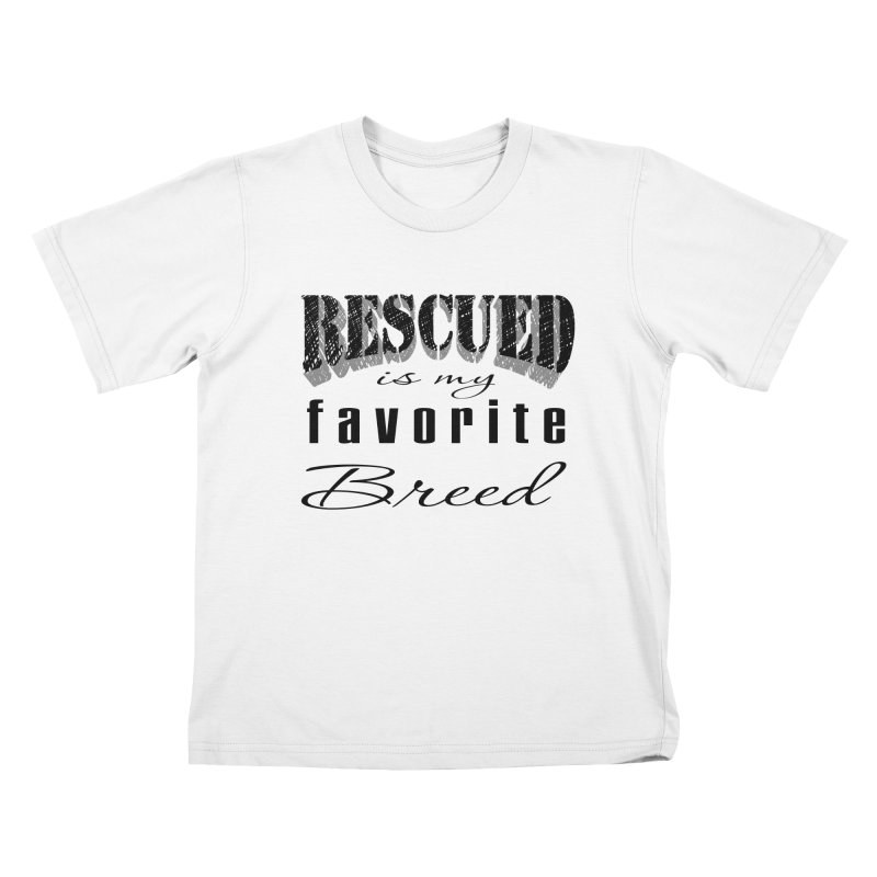 Rescued Pencil Kids T-Shirt by Andy's Paw Prints Shop