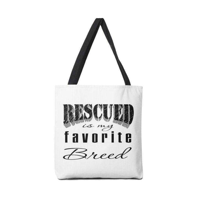 Rescued Pencil Accessories Bag by Andy's Paw Prints Shop