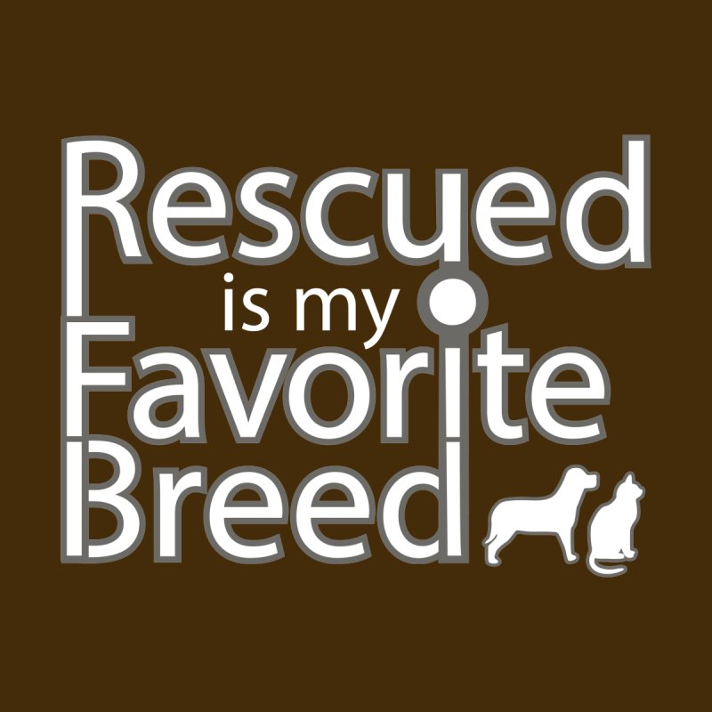Rescued is my favorite breed light Mod Women's T-Shirt by Andy's Paw Prints Shop