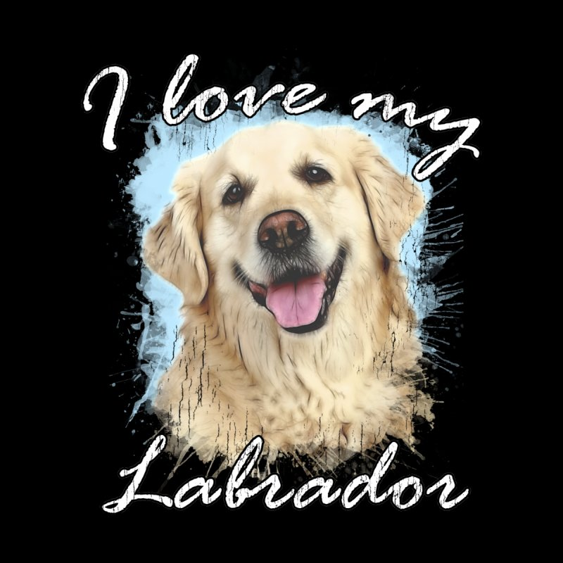 I love my Labrador Accessories Beach Towel by Andy's Paw Prints Shop