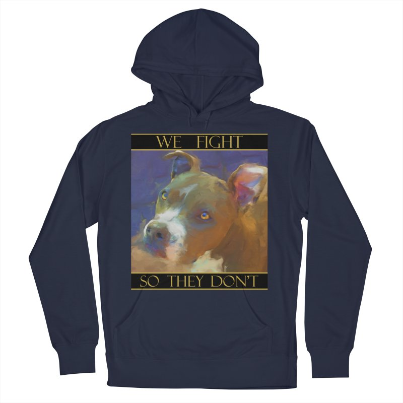 We fight, so they don't 2 Men's Pullover Hoody by Andy's Paw Prints Shop