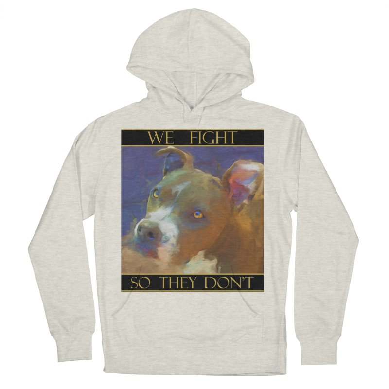 We fight, so they don't 2 Men's French Terry Pullover Hoody by Andy's Paw Prints Shop