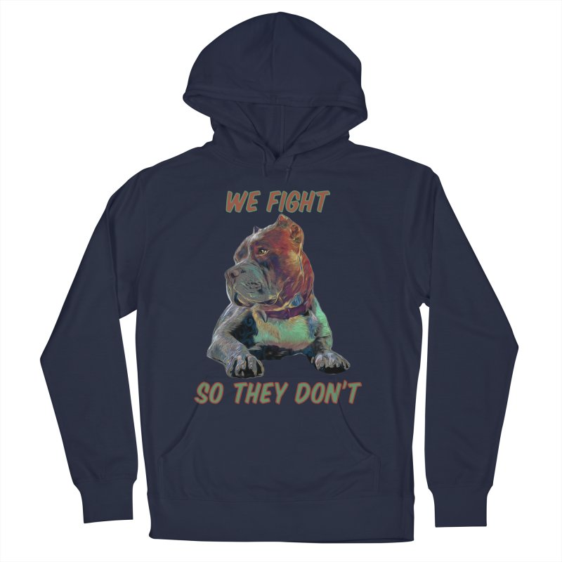We fight, so they don't 3 Men's Pullover Hoody by Andy's Paw Prints Shop