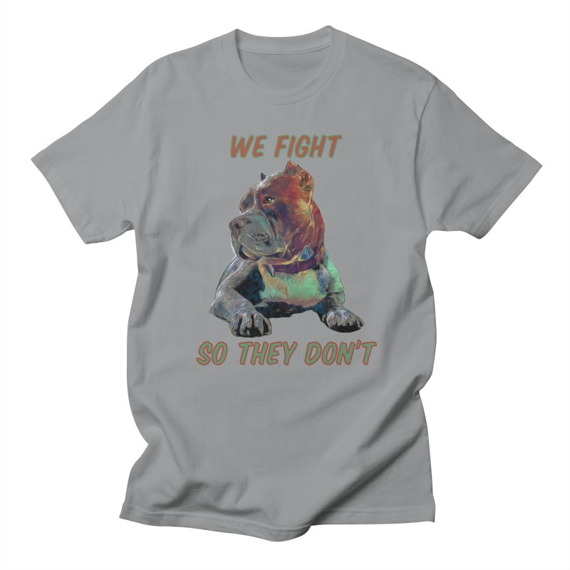 We fight, so they don't 3 Men's Regular T-Shirt by Andy's Paw Prints Shop