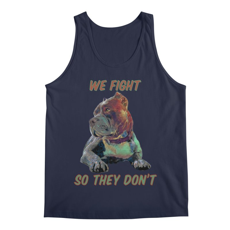 We fight, so they don't 3 Men's Regular Tank by Andy's Paw Prints Shop