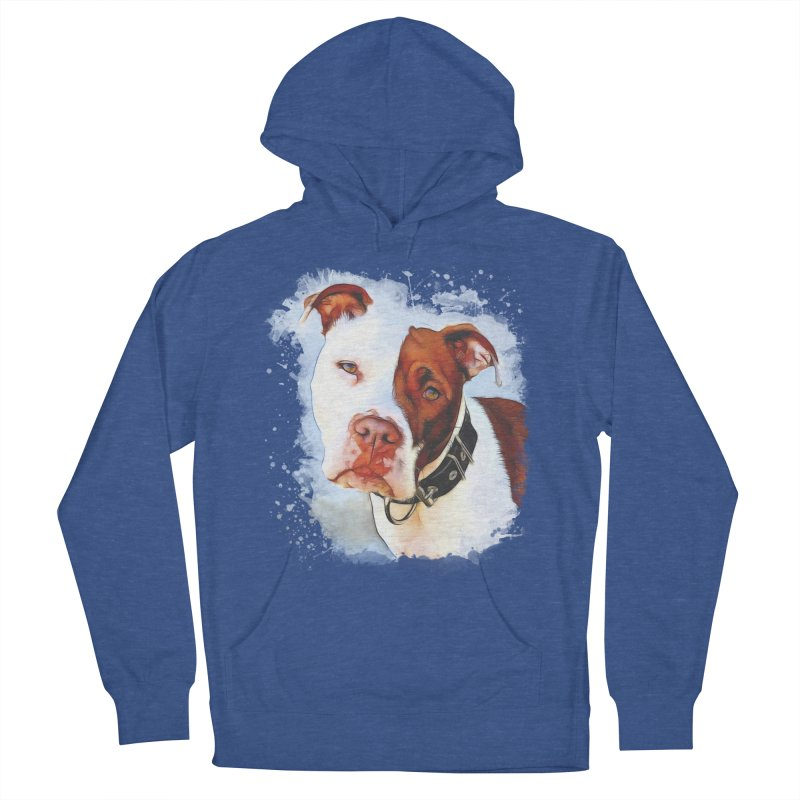 Pit Bull Women's Pullover Hoody by Andy's Paw Prints Shop