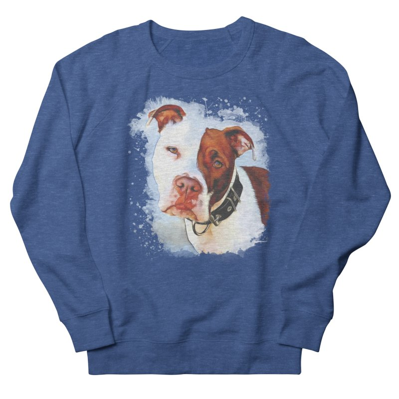Pit Bull Women's Sweatshirt by Andy's Paw Prints Shop