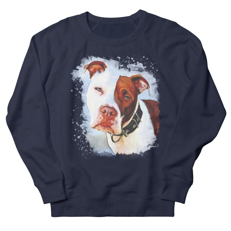 Pit Bull Men's Sweatshirt by Andy's Paw Prints Shop