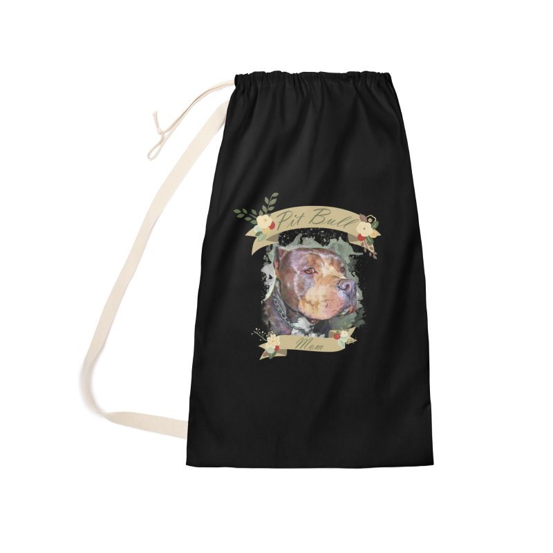 Pit Bull Mom Accessories Bag by Andy's Paw Prints Shop