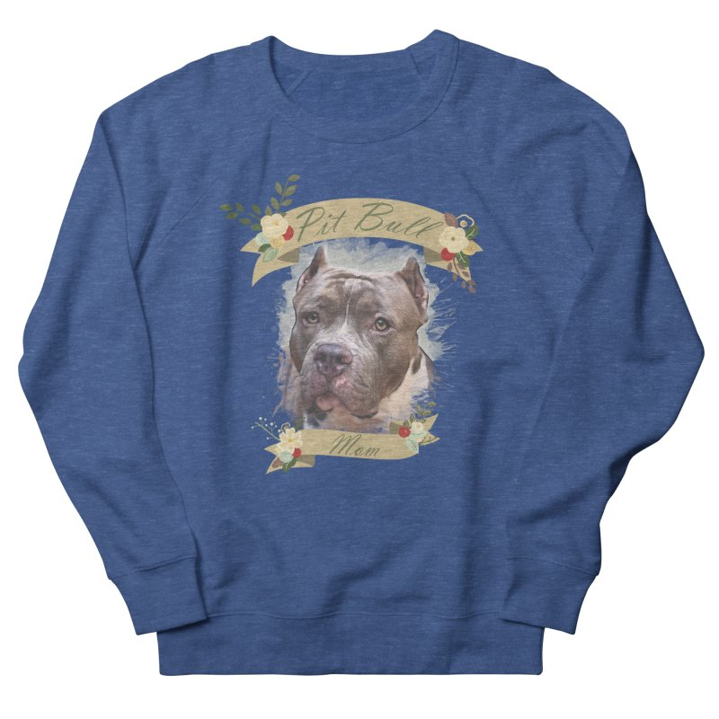 Pit Bull Mom 2 Women's Sweatshirt by Andy's Paw Prints Shop