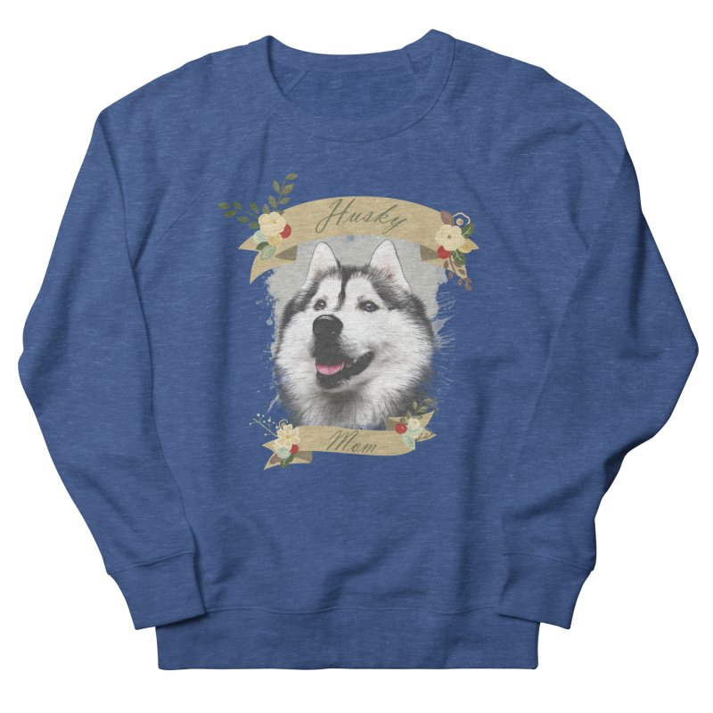 Husky Mom Women's Sweatshirt by Andy's Paw Prints Shop