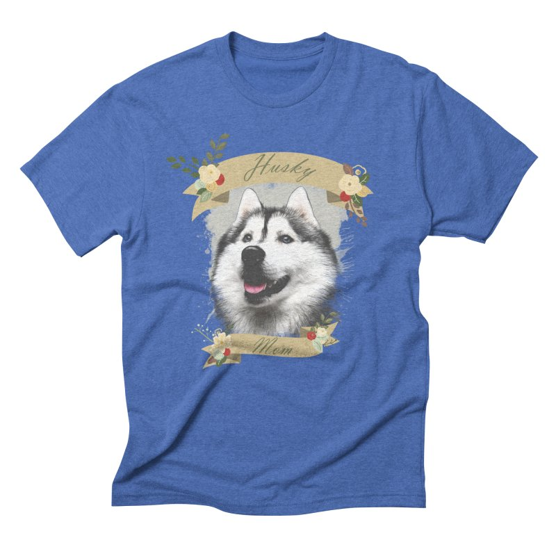 Husky Mom Men's T-Shirt by Andy's Paw Prints Shop