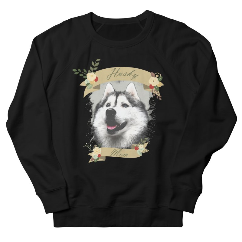 Husky Mom Men's Sweatshirt by Andy's Paw Prints Shop