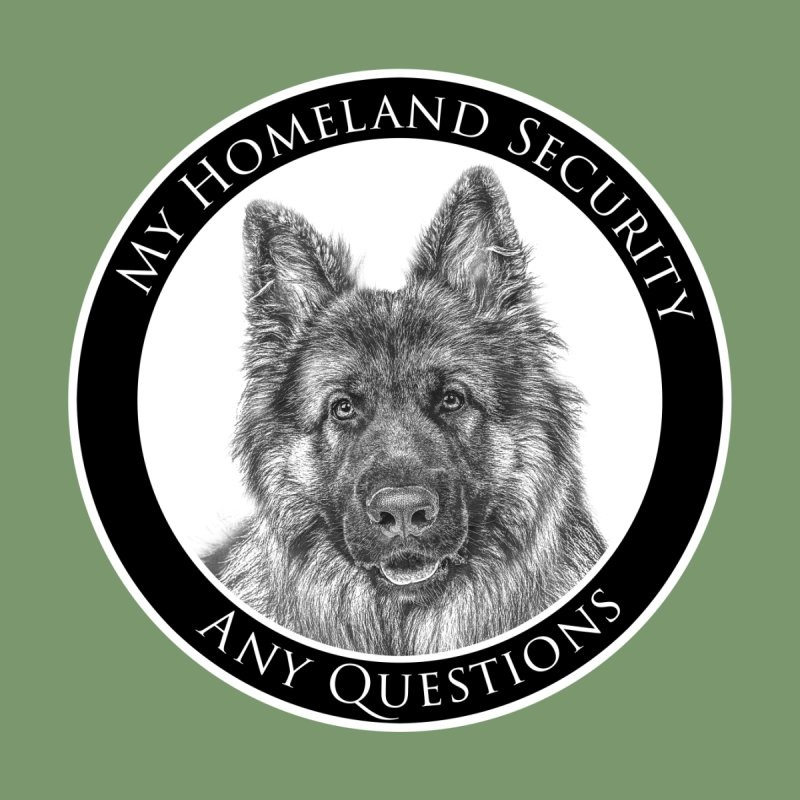My homeland security Kids Longsleeve T-Shirt by Andy's Paw Prints Shop