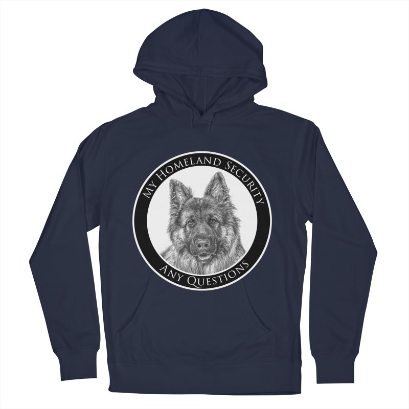 My homeland security Men's Pullover Hoody by Andy's Paw Prints Shop