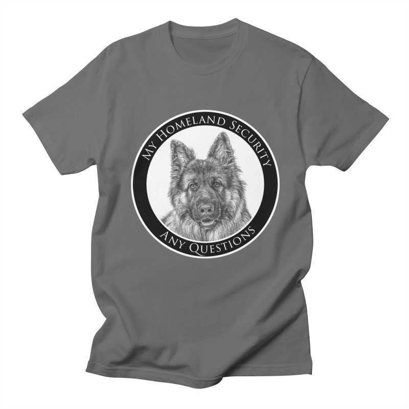 My homeland security Women's T-Shirt by Andy's Paw Prints Shop