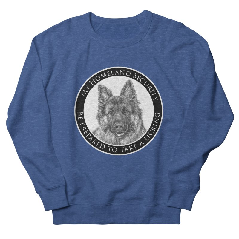 Homeland security licking Men's Sweatshirt by Andy's Paw Prints Shop