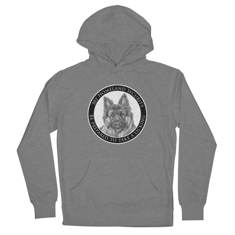Homeland security licking Women's French Terry Pullover Hoody by Andy's Paw Prints Shop