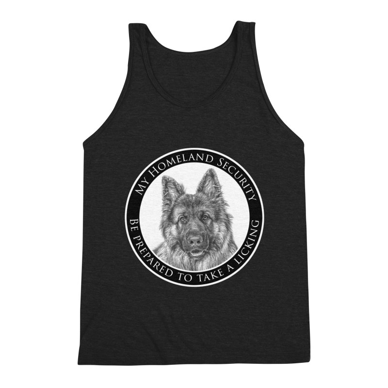 Homeland security licking Men's Tank by Andy's Paw Prints Shop