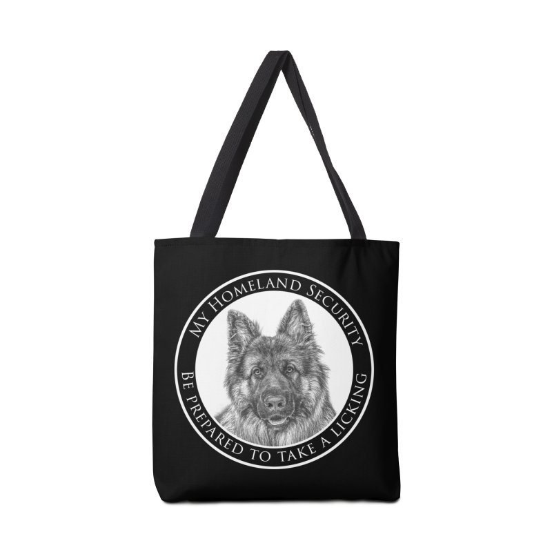Homeland security licking Accessories Bag by Andy's Paw Prints Shop