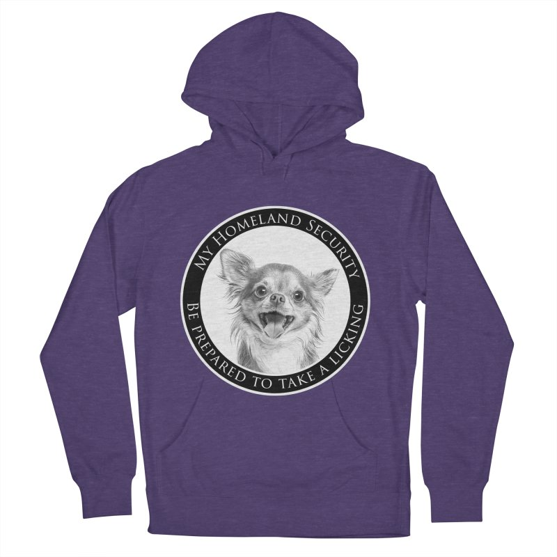 Homeland security Chihuahua Women's French Terry Pullover Hoody by Andy's Paw Prints Shop