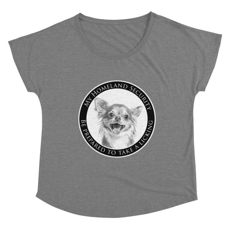 Homeland security Chihuahua Women's Scoop Neck by Andy's Paw Prints Shop