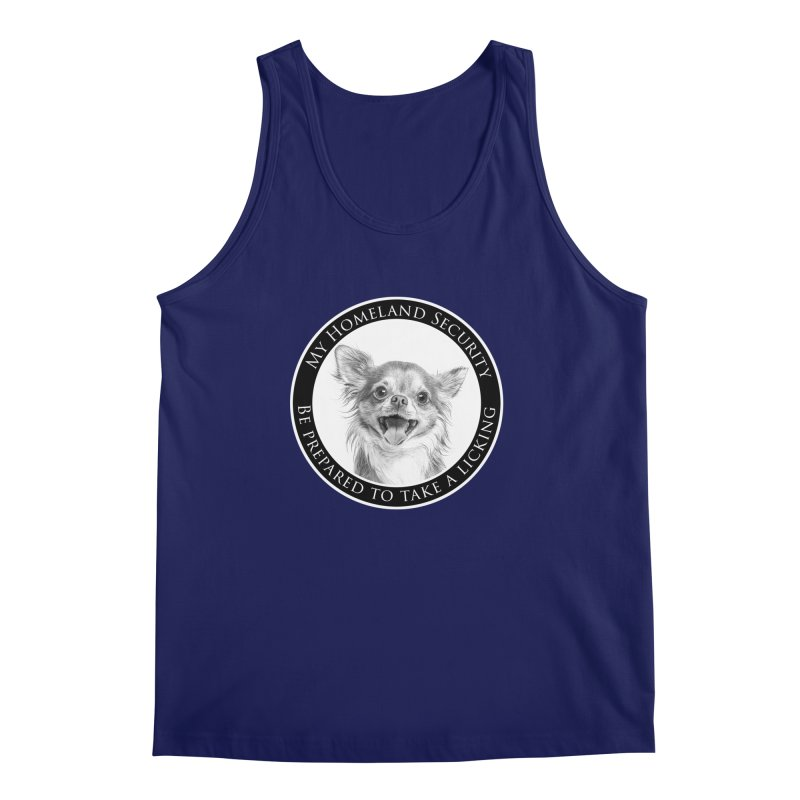 Homeland security Chihuahua Men's Regular Tank by Andy's Paw Prints Shop