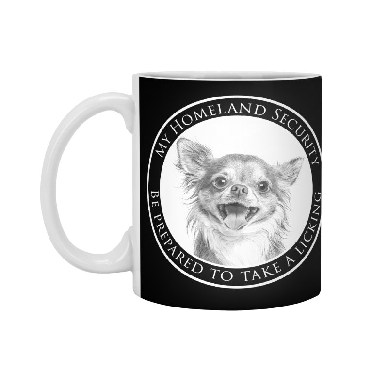 Homeland security Chihuahua Accessories Standard Mug by Andy's Paw Prints Shop