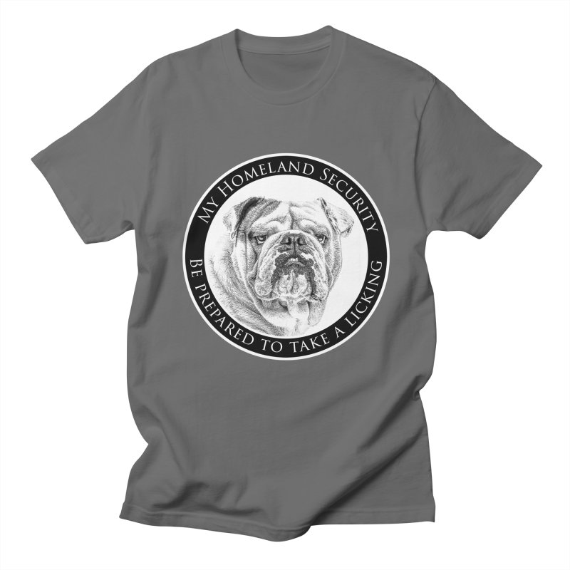 Homeland security Bulldog Women's T-Shirt by Andy's Paw Prints Shop