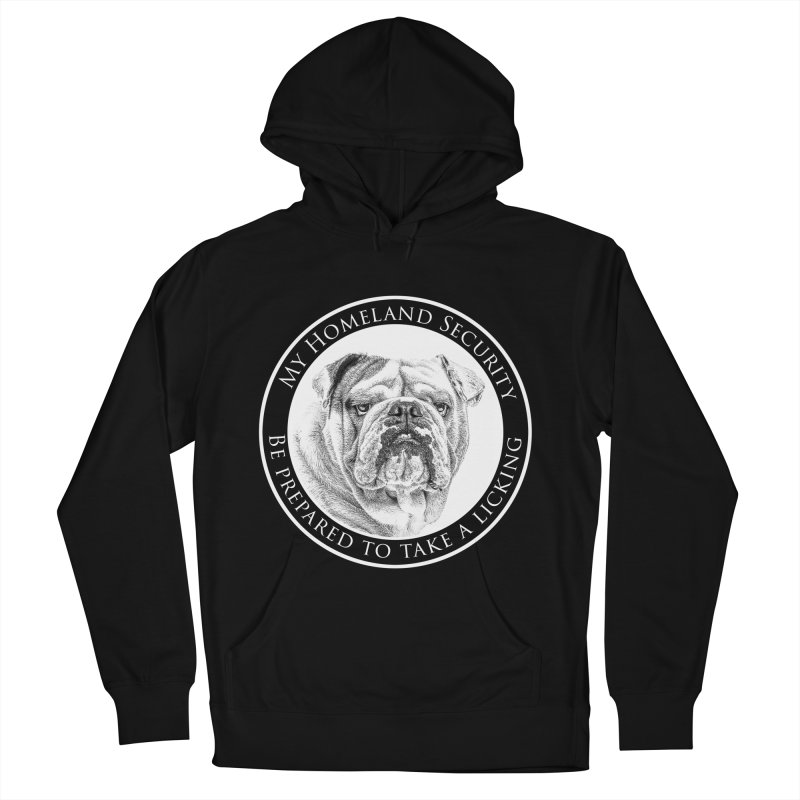 Homeland security Bulldog Women's French Terry Pullover Hoody by Andy's Paw Prints Shop