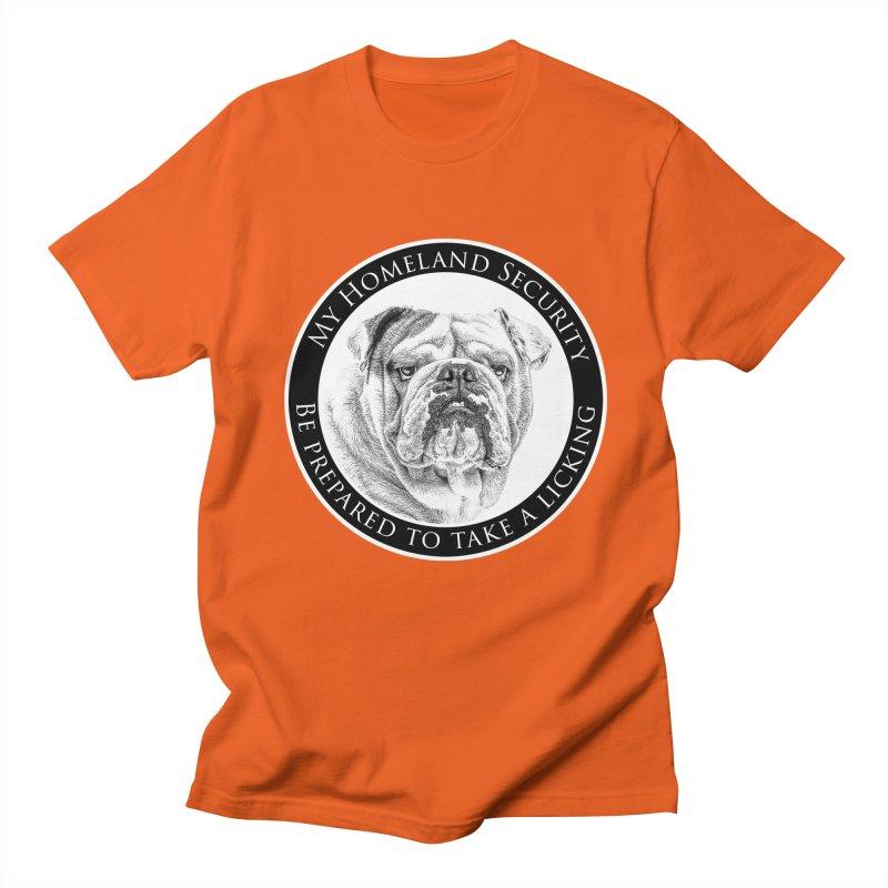 Homeland security Bulldog Women's Regular Unisex T-Shirt by Andy's Paw Prints Shop