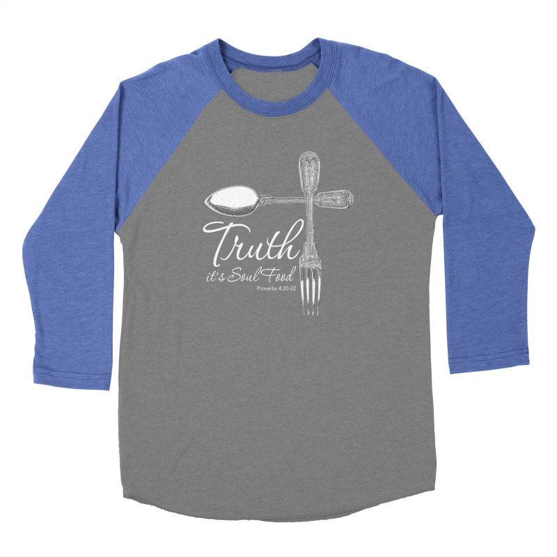 Truth it's soul food light Women's Longsleeve T-Shirt by Andy's Paw Prints Shop