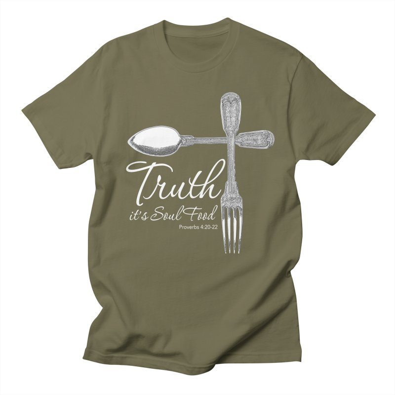 Truth it's soul food light Women's Regular Unisex T-Shirt by Andy's Paw Prints Shop