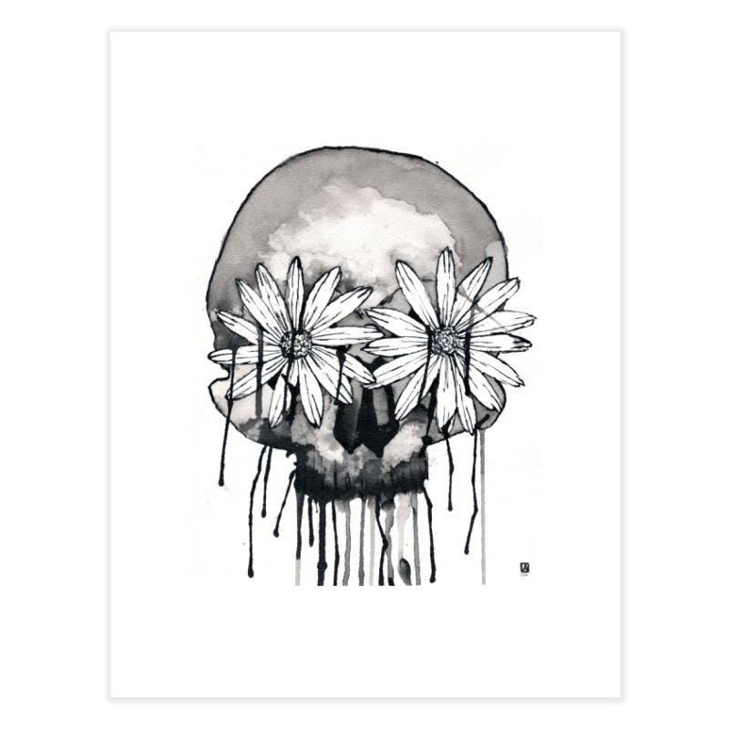 Living Dead Home Fine Art Print by Angerine's Artist Shop